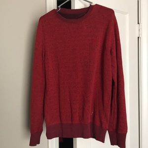 Hurley size M red sweater